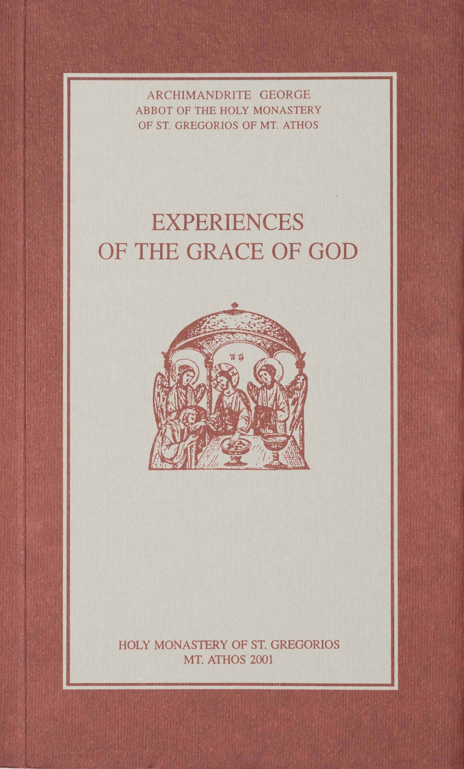 Experiences of the Grace of God                    OUT OF STOCK