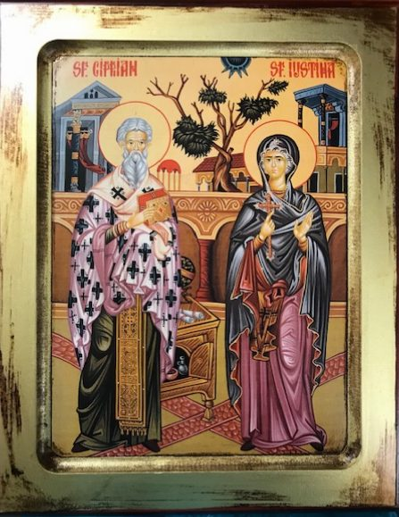 St Cyprian and St Justina