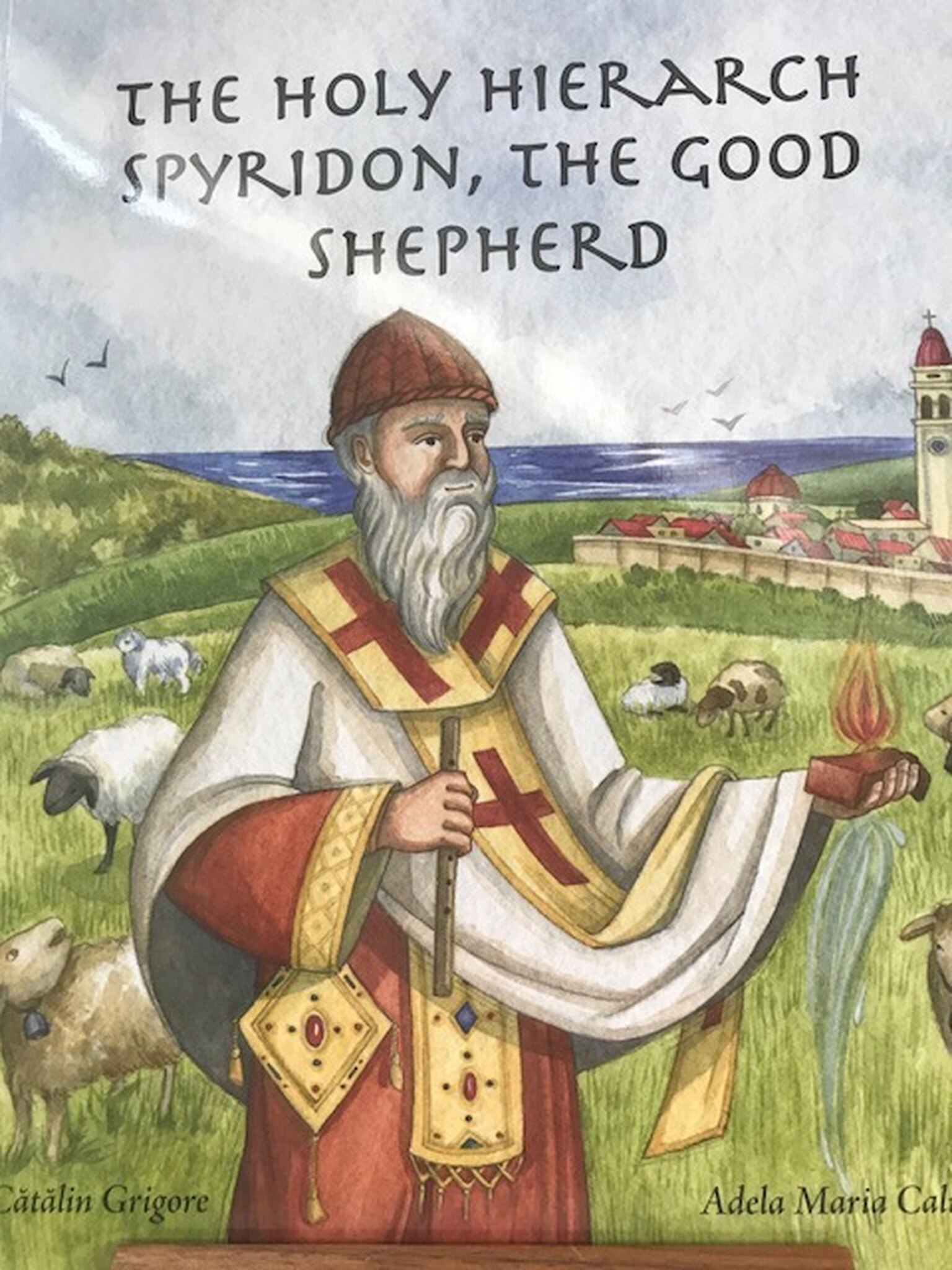 The Holy Hierarch Spyridon, The Good Shepherd
