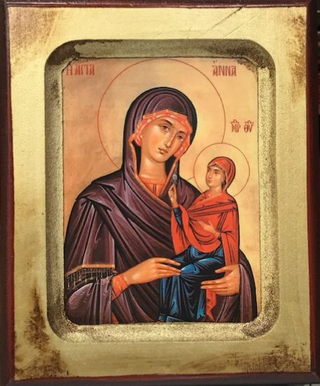 St Anna, Mother of the Theotokos