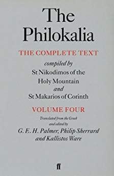 The Philokalia: Volume 4, The Complete Text