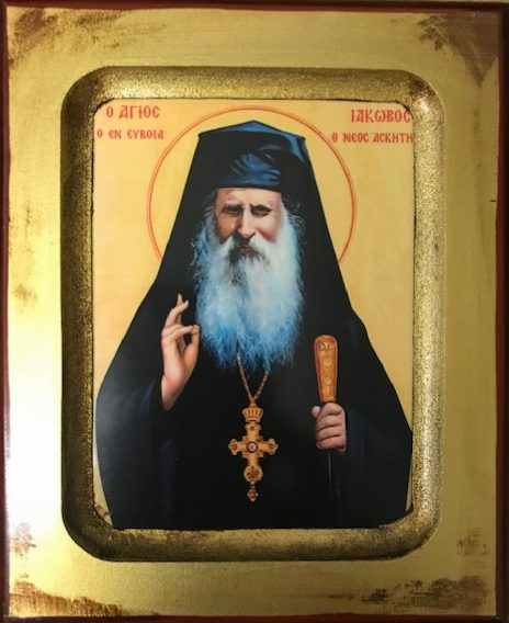 St Iakovos Tsalikis of Evia