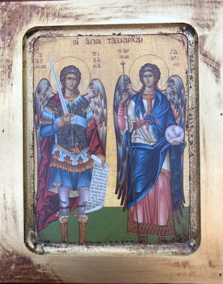 The Holy Archangels Michael and Gabriel