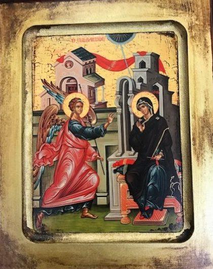 The Annunciation    Ο Ευαγγελισμός