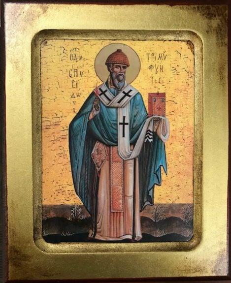 St Spyridon, Bishop of Tremithus