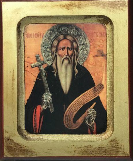 St Neophytos of Cyprus       Άγιος Νεόφυτος ο Έγκλειστος