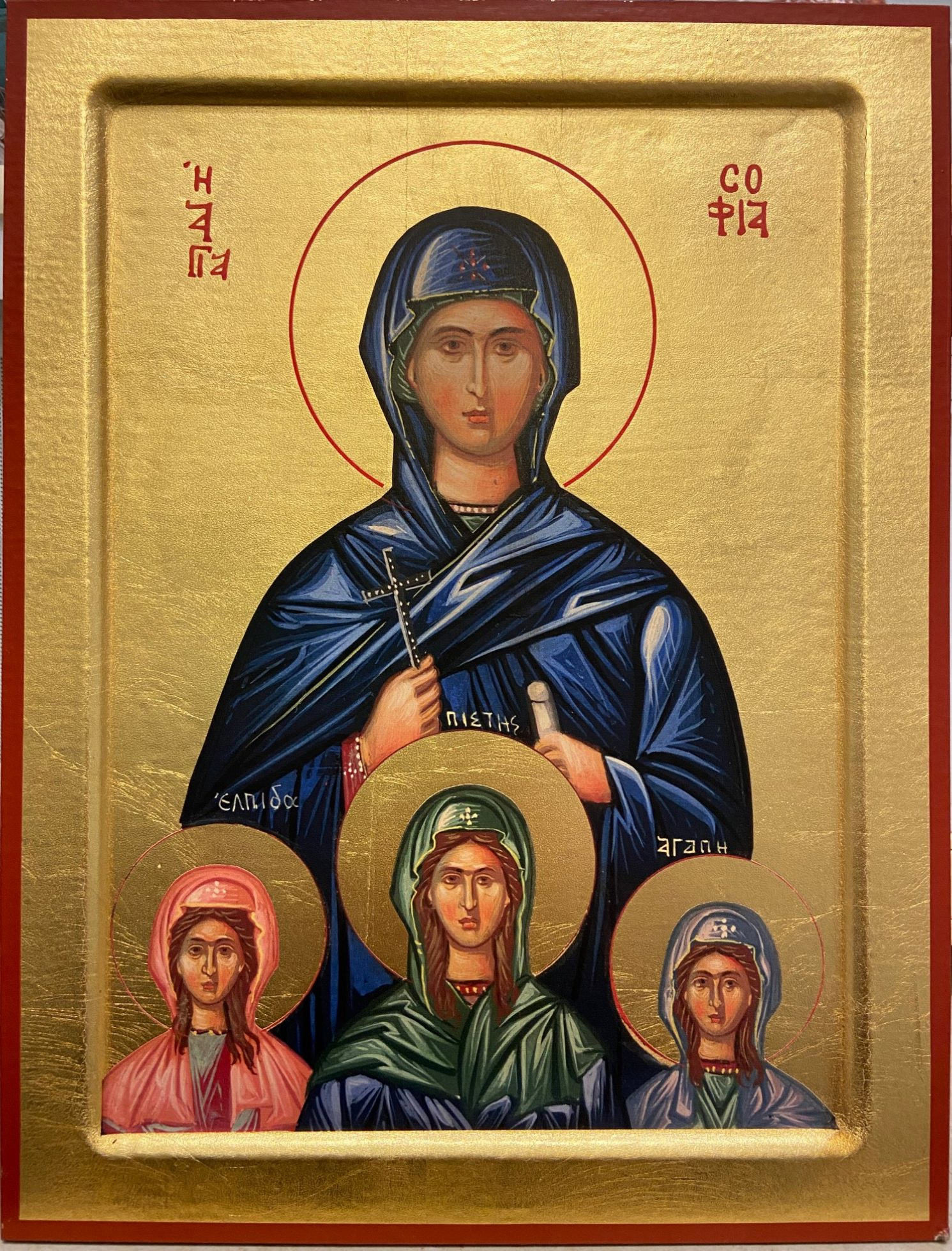 St Sophia and her Three Daughters