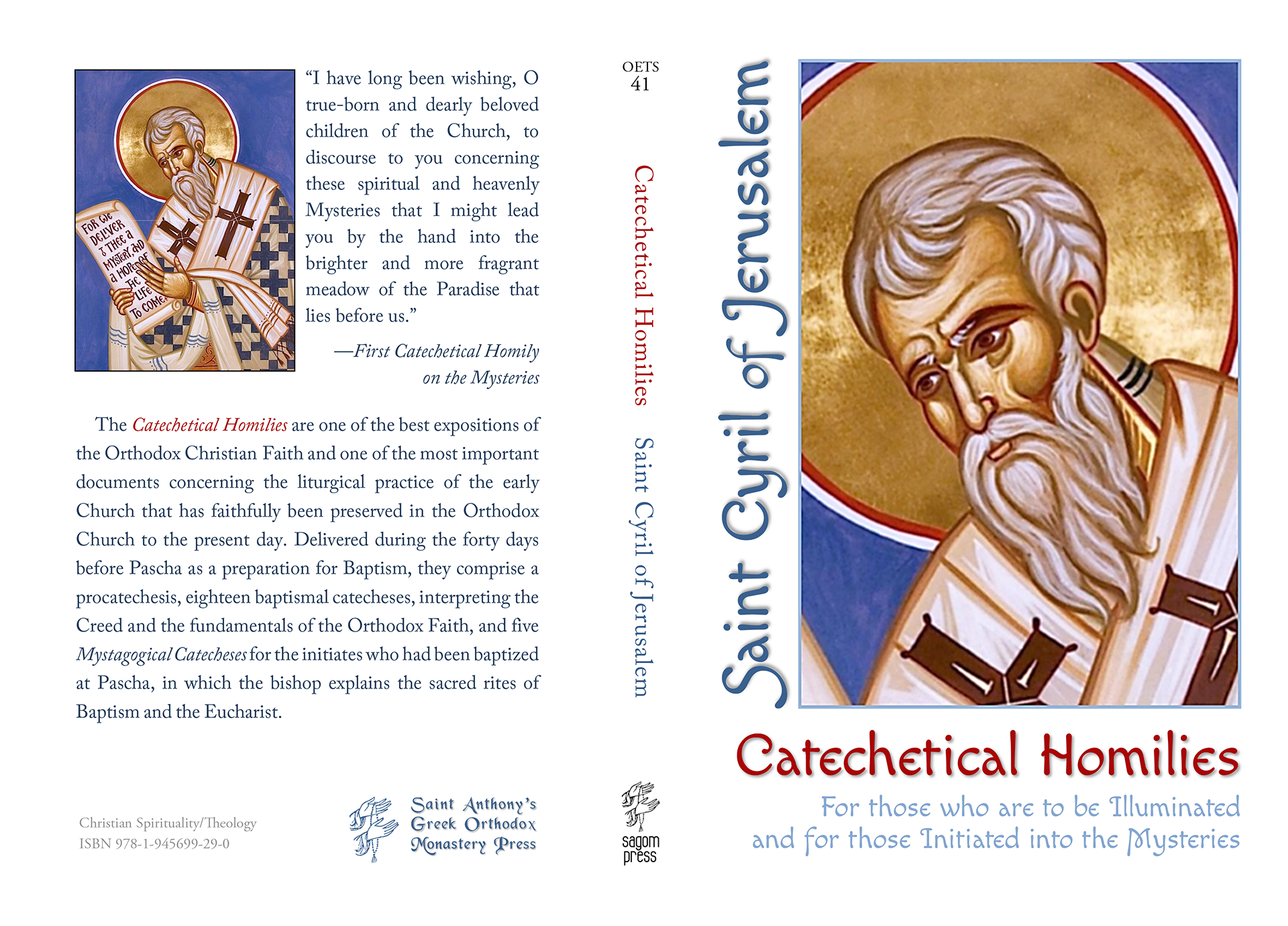 Catechetical Homilies by Saint Cyril of Jerusalem